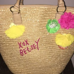 BETSEY JOHNSON beach bag 🏖